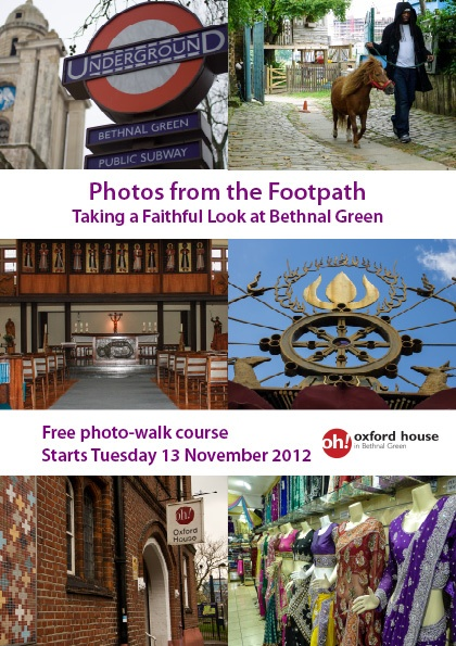 Photos from the footpath flyer